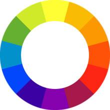 circulo cromatico RYB