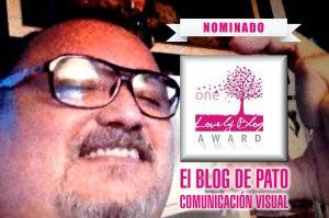 38 - nominado a los lovely blog awards